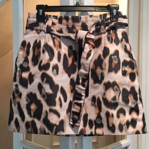 RED Valentino Pink Patterned Skirt Size 40